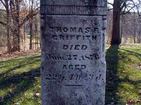 GRIFFITH, THOMAS FRANKIN - Holmes County, Ohio | THOMAS FRANKIN GRIFFITH - Ohio Gravestone Photos