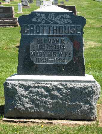 GROTTHOUSE, HERMAN R. - Holmes County, Ohio | HERMAN R. GROTTHOUSE - Ohio Gravestone Photos