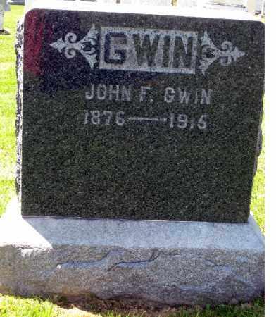 GWIN, JOHN F. - Holmes County, Ohio | JOHN F. GWIN - Ohio Gravestone Photos