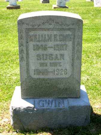 GWIN, WILLIAM F. - Holmes County, Ohio | WILLIAM F. GWIN - Ohio Gravestone Photos