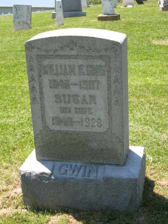 GWIN, WILLIAM H. - Holmes County, Ohio | WILLIAM H. GWIN - Ohio Gravestone Photos