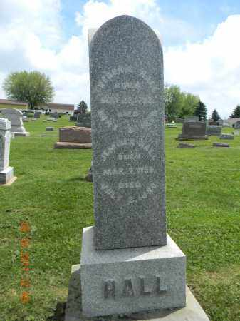 HALL, FREDERICK - Holmes County, Ohio | FREDERICK HALL - Ohio Gravestone Photos