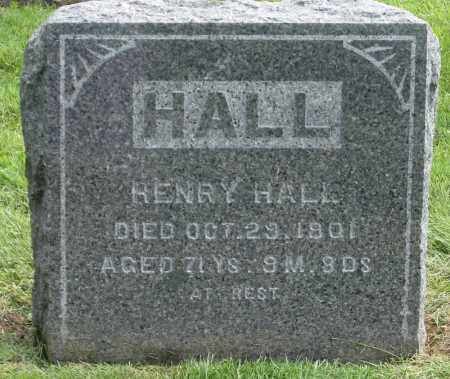 HALL, HENRY - Holmes County, Ohio | HENRY HALL - Ohio Gravestone Photos
