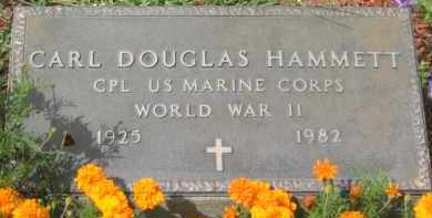 HAMMETT, CARL DOUGLAS - Holmes County, Ohio | CARL DOUGLAS HAMMETT - Ohio Gravestone Photos