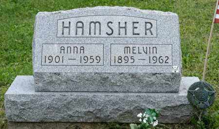 HAMSHER, ANNA - Holmes County, Ohio | ANNA HAMSHER - Ohio Gravestone Photos