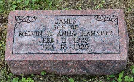 HAMSHER, JAMES - Holmes County, Ohio | JAMES HAMSHER - Ohio Gravestone Photos
