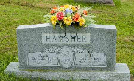 MILLER HAMSHER, OLLIE - Holmes County, Ohio | OLLIE MILLER HAMSHER - Ohio Gravestone Photos