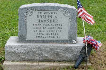 HAMSHER, ROLLIN A. - Holmes County, Ohio | ROLLIN A. HAMSHER - Ohio Gravestone Photos