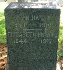 HANEY, ELIZABETH - Holmes County, Ohio | ELIZABETH HANEY - Ohio Gravestone Photos