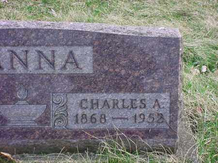 HANNA, CHARLES A - Holmes County, Ohio | CHARLES A HANNA - Ohio Gravestone Photos