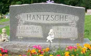 HANTZSCHE, RUBY E. - Holmes County, Ohio | RUBY E. HANTZSCHE - Ohio Gravestone Photos