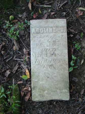 HARBAUGH, ABOLINE S. - Holmes County, Ohio | ABOLINE S. HARBAUGH - Ohio Gravestone Photos