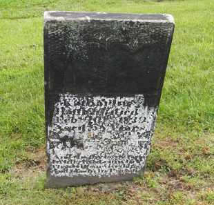 HATFIELD, KATHARINE - Holmes County, Ohio | KATHARINE HATFIELD - Ohio Gravestone Photos