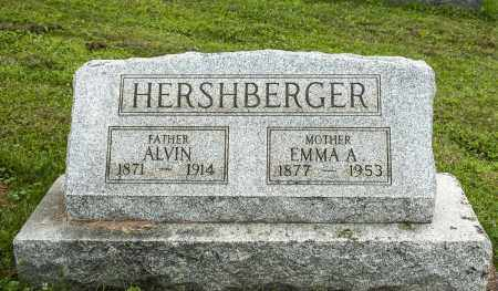 SNYDER HERSHBERGER, EMMA A. - Holmes County, Ohio | EMMA A. SNYDER HERSHBERGER - Ohio Gravestone Photos