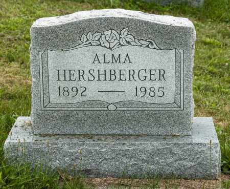 HERSHBERGER, ALMA - Holmes County, Ohio | ALMA HERSHBERGER - Ohio Gravestone Photos