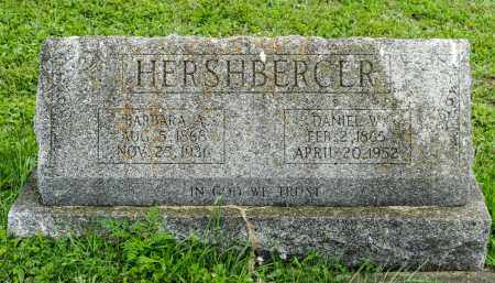 HERSHBERGER, DANIEL W. - Holmes County, Ohio | DANIEL W. HERSHBERGER - Ohio Gravestone Photos