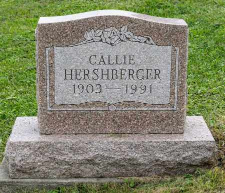 HERSHBERGER, CALLIE - Holmes County, Ohio | CALLIE HERSHBERGER - Ohio Gravestone Photos