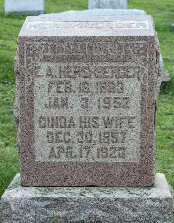 HERSHBERGER, CINDA - Holmes County, Ohio | CINDA HERSHBERGER - Ohio Gravestone Photos
