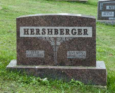 HERSHBERGER, ELLA - Holmes County, Ohio | ELLA HERSHBERGER - Ohio Gravestone Photos