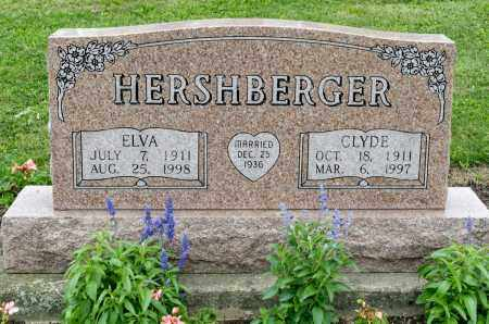 FLINNER HERSHBERGER, ELVA - Holmes County, Ohio | ELVA FLINNER HERSHBERGER - Ohio Gravestone Photos