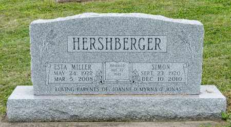 HERSHBERGER, SIMON - Holmes County, Ohio | SIMON HERSHBERGER - Ohio Gravestone Photos