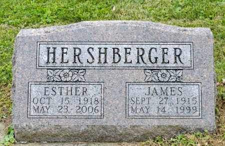 MILLER HERSHBERGER, ESTHER - Holmes County, Ohio | ESTHER MILLER HERSHBERGER - Ohio Gravestone Photos