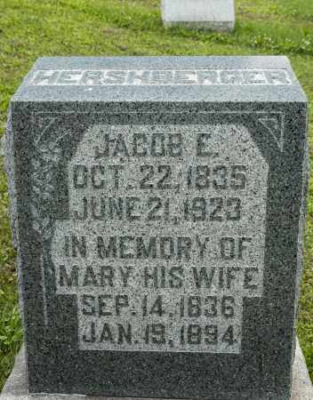 HERSHBERGER, JACOB E. - Holmes County, Ohio | JACOB E. HERSHBERGER - Ohio Gravestone Photos