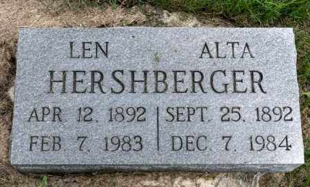 HERSHBERGER, LEONARD - Holmes County, Ohio | LEONARD HERSHBERGER - Ohio Gravestone Photos