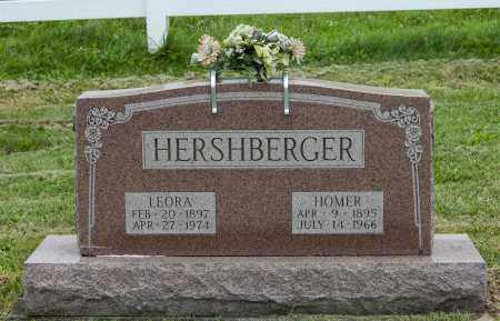 HERSHBERGER, LEORA - Holmes County, Ohio | LEORA HERSHBERGER - Ohio Gravestone Photos