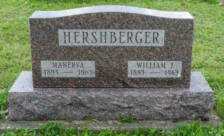 HERSHBERGER, MANERVA - Holmes County, Ohio | MANERVA HERSHBERGER - Ohio Gravestone Photos