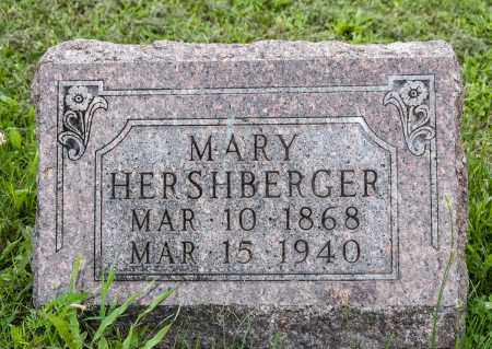HERSHBERGER, MARY - Holmes County, Ohio | MARY HERSHBERGER - Ohio Gravestone Photos