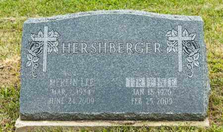 HERSHBERGER, MERLIN LEE - Holmes County, Ohio | MERLIN LEE HERSHBERGER - Ohio Gravestone Photos