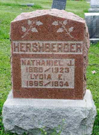 HERSHBERGER, NATHANIEL J. - Holmes County, Ohio | NATHANIEL J. HERSHBERGER - Ohio Gravestone Photos