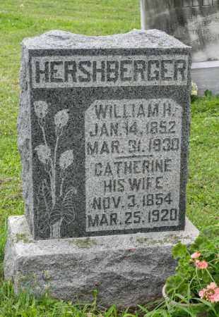 HERSHBERGER, WILLIAM H. - Holmes County, Ohio | WILLIAM H. HERSHBERGER - Ohio Gravestone Photos