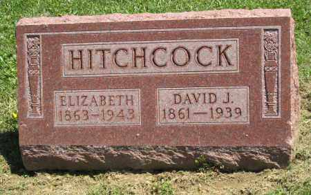 HITCHCOCK, ELIZABETH - Holmes County, Ohio | ELIZABETH HITCHCOCK - Ohio Gravestone Photos