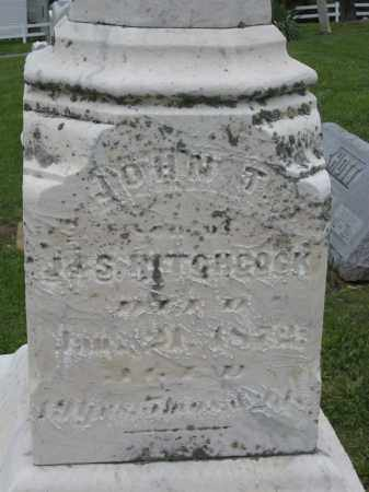 HITCHCOCK, JOHN T - Holmes County, Ohio | JOHN T HITCHCOCK - Ohio Gravestone Photos