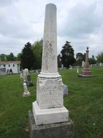 HITCHCOCK MONUMENT, JOHN T. - OVERALL VIEW - Holmes County, Ohio | JOHN T. - OVERALL VIEW HITCHCOCK MONUMENT - Ohio Gravestone Photos