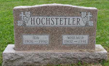 HOCHSTETLER, WHILMER - Holmes County, Ohio | WHILMER HOCHSTETLER - Ohio Gravestone Photos