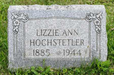 SOMMERS HOCHSTETLER, LIZZIE ANN - Holmes County, Ohio | LIZZIE ANN SOMMERS HOCHSTETLER - Ohio Gravestone Photos