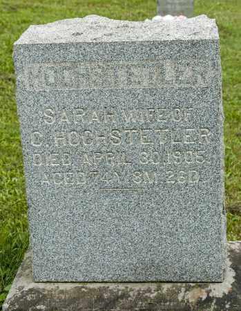 HOCHSTETLER, SARAH - Holmes County, Ohio | SARAH HOCHSTETLER - Ohio Gravestone Photos