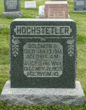 HOCHSTETLER, ALICE - Holmes County, Ohio | ALICE HOCHSTETLER - Ohio Gravestone Photos