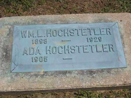 HOCHSTETLER, ADA - Holmes County, Ohio | ADA HOCHSTETLER - Ohio Gravestone Photos