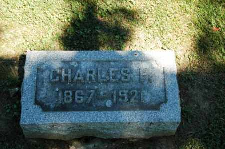 HOERGER, CHARLES FRANKLIN - Holmes County, Ohio | CHARLES FRANKLIN HOERGER - Ohio Gravestone Photos