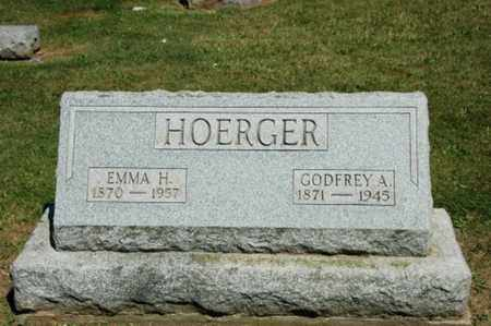 HOERGER, EMMA - Holmes County, Ohio | EMMA HOERGER - Ohio Gravestone Photos