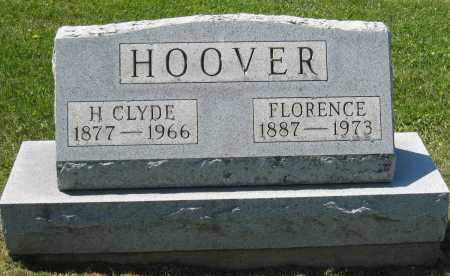HOOVER, H. CLYDE - Holmes County, Ohio | H. CLYDE HOOVER - Ohio Gravestone Photos
