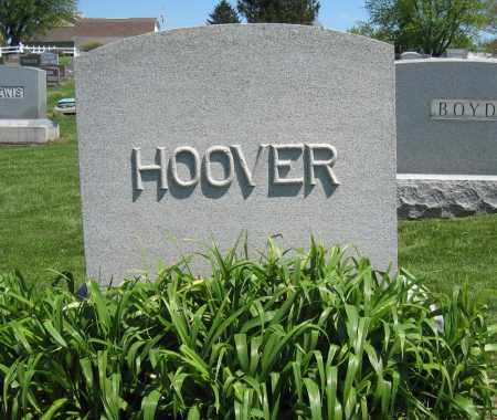 HOOVER, MONUMENT - Holmes County, Ohio | MONUMENT HOOVER - Ohio Gravestone Photos