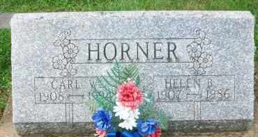 HORNER, CARL W. - Holmes County, Ohio | CARL W. HORNER - Ohio Gravestone Photos