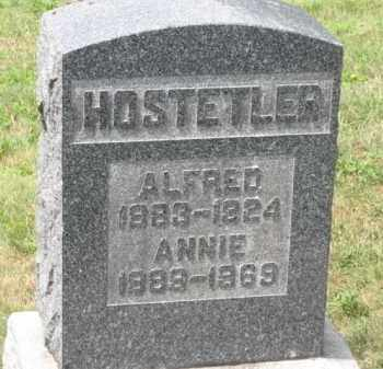 HOSTETLER, ANNIE - Holmes County, Ohio | ANNIE HOSTETLER - Ohio Gravestone Photos