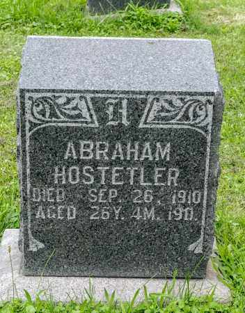 HOSTETLER, ABRAHAM - Holmes County, Ohio | ABRAHAM HOSTETLER - Ohio Gravestone Photos