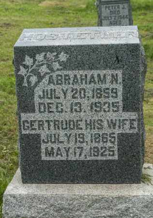HOSTETLER, ABRAHAM N. - Holmes County, Ohio | ABRAHAM N. HOSTETLER - Ohio Gravestone Photos